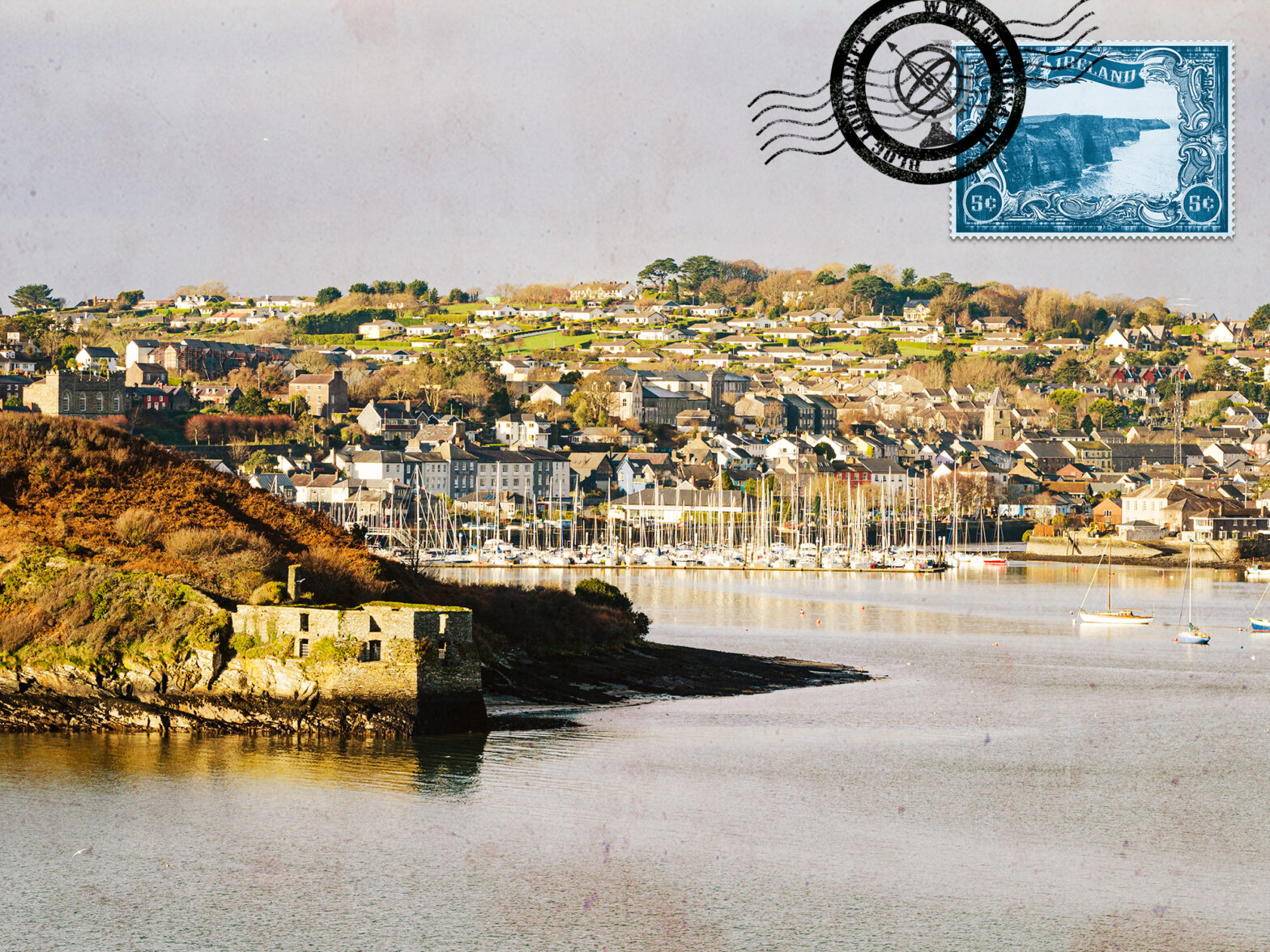 Visiting Kinsale and the marina for an escape from Cork