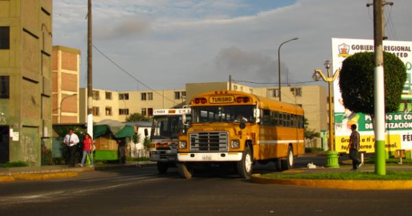 School Bus in Lima