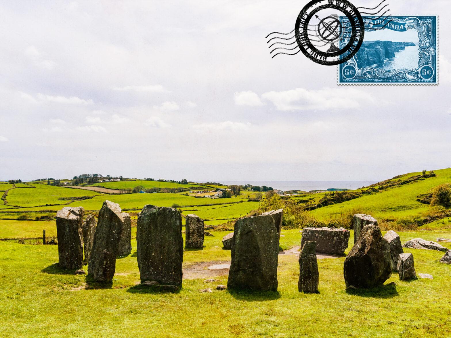 Visitar Drombeg, o Círculo de Pedras Megalítico perto de Cork