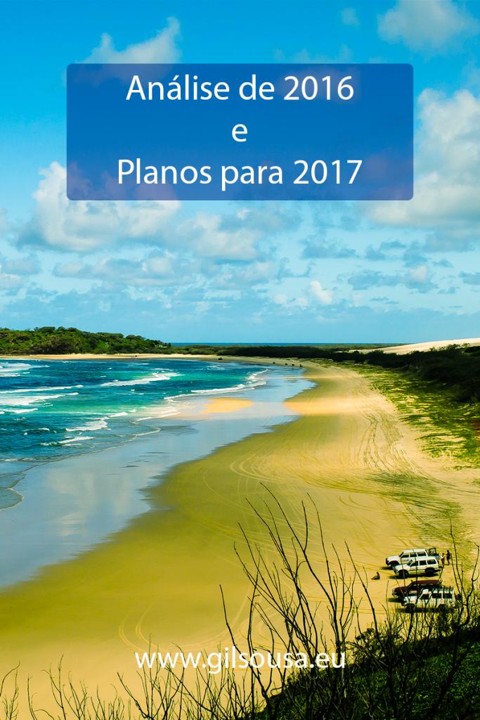 Análise de 2016 e Planos para 2017
