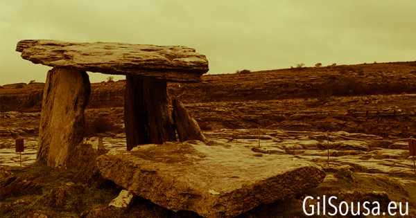 Conhecer o Parque Nacional Burren no Inverno