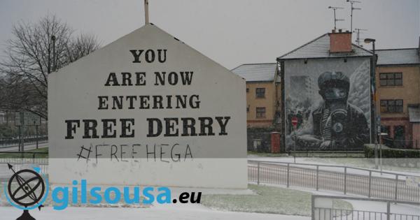 Derry/Londonderry, uma cidade dividida entre dois países