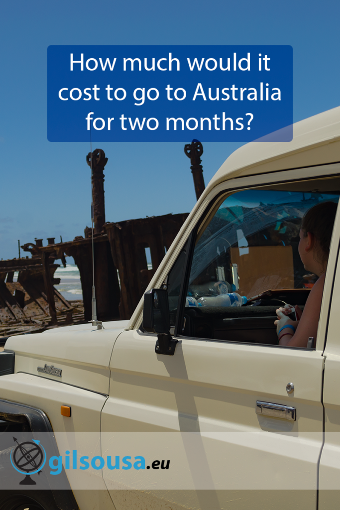 How much would it cost to go to Australia for two months?