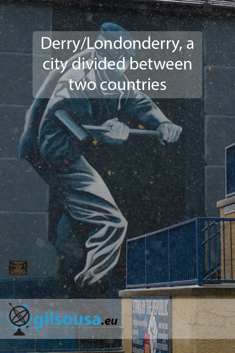Derry/Londonderry, a city divided between two countries