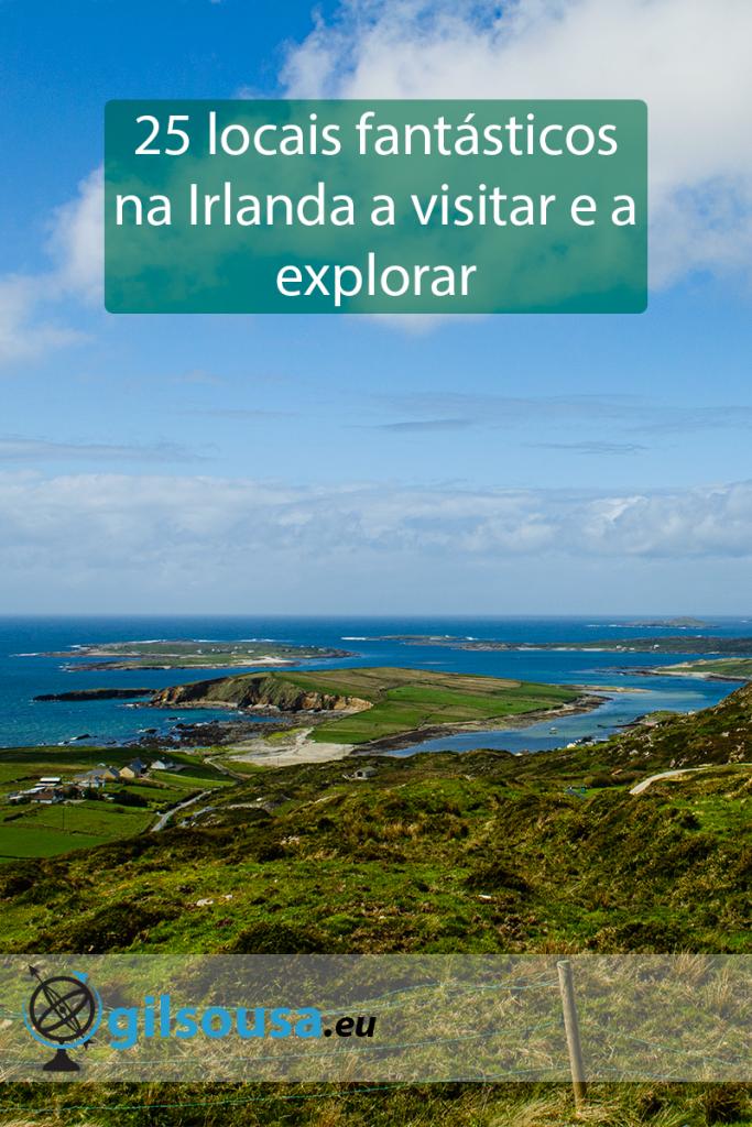 25 locais fantásticos na Irlanda a visitar e a explorar