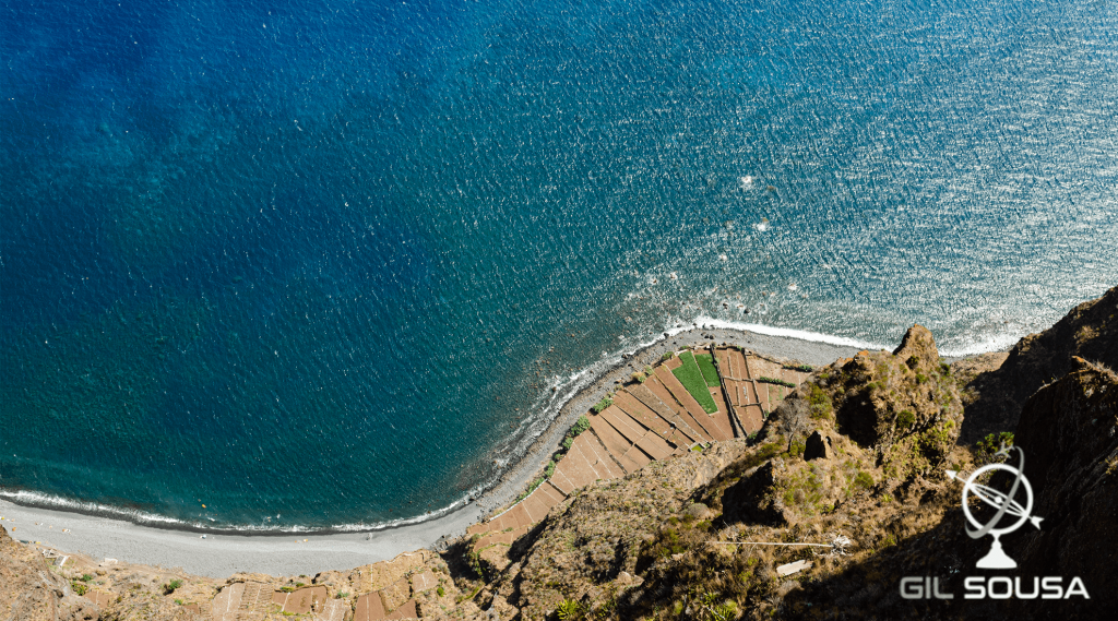 Looking down, Cabo Girão