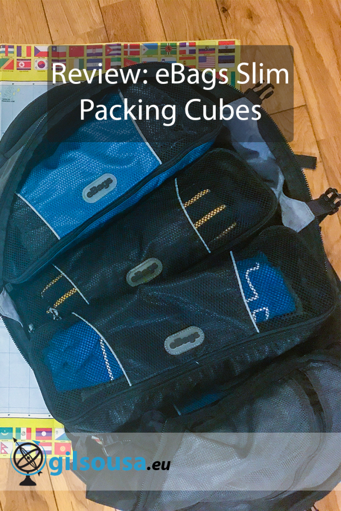 Review: eBags Slim Packing Cubes