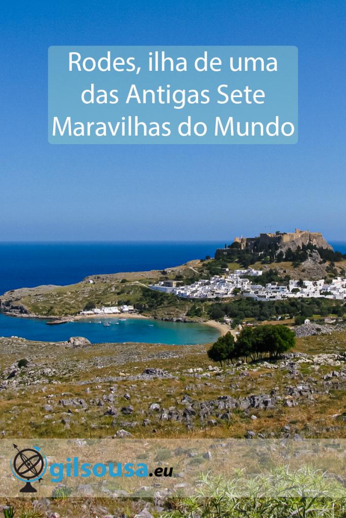 Rodes, ilha de uma das Antigas Sete Maravilhas do Mundo