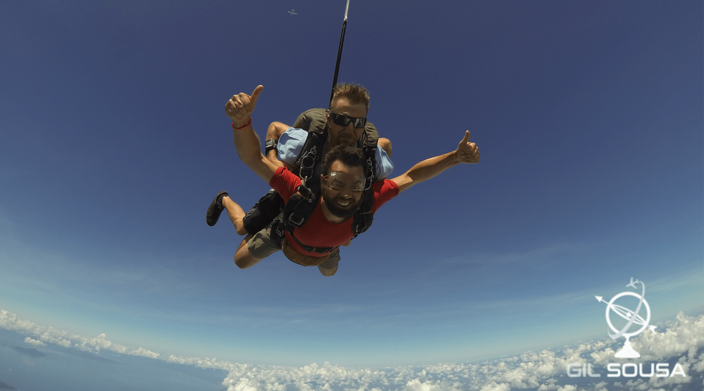 Sky Dive in Mission Beach