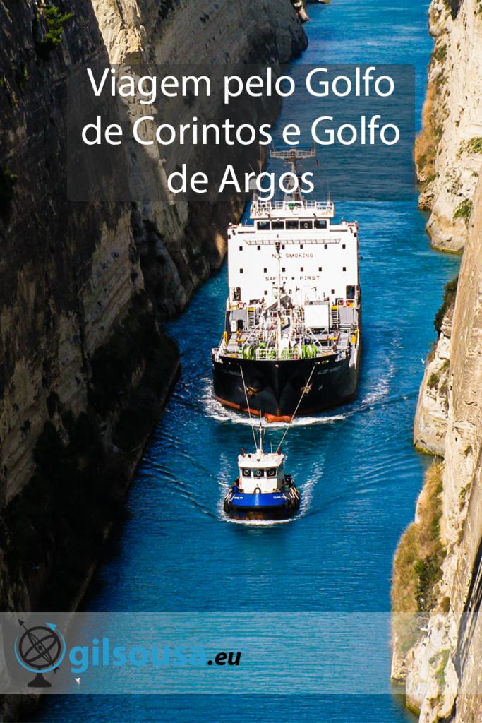Viagem pelo Golfo de Corintos e Golfo de Argos