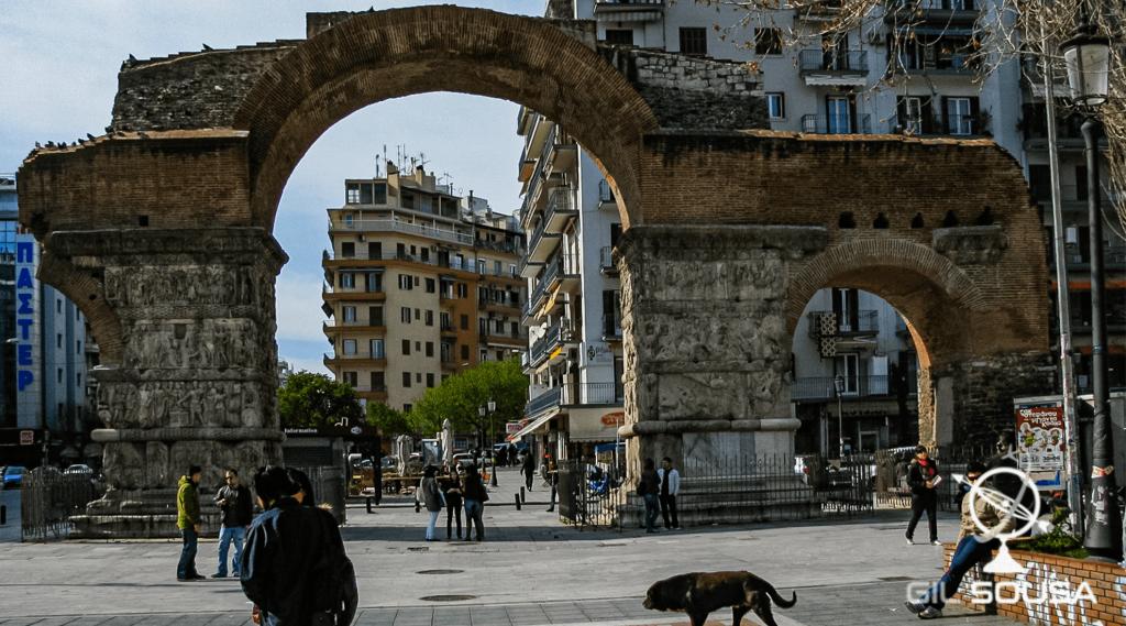 Arco de Galério em Salonica