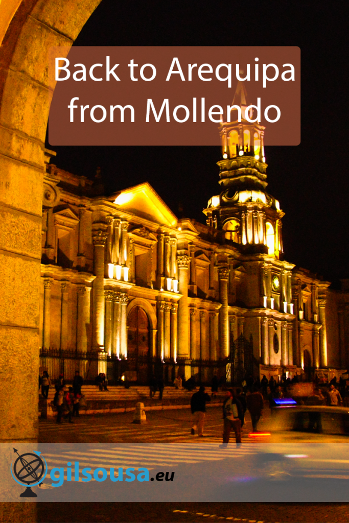 Back to Arequipa from Mollendo