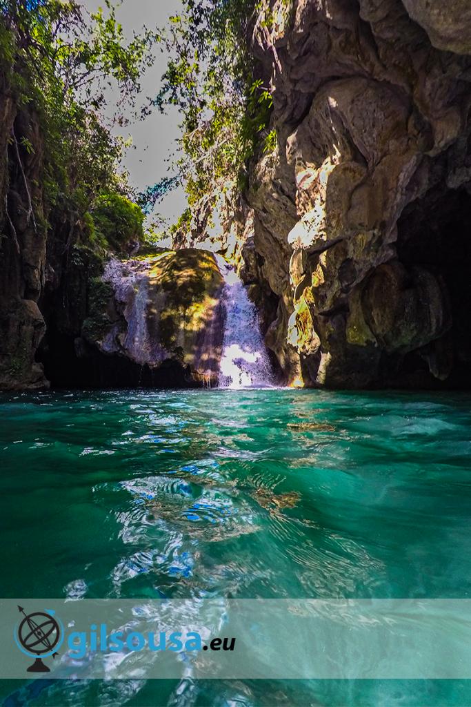 Cascata no Parque El Cubano