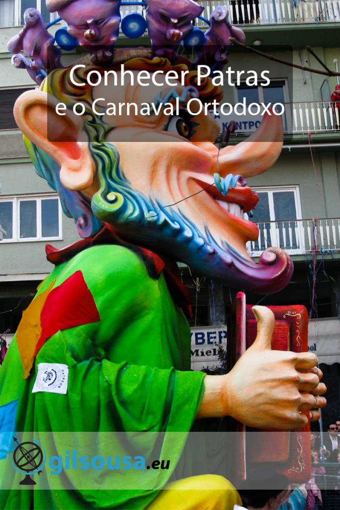 Conhecer Patras e o Carnaval Ortodoxo