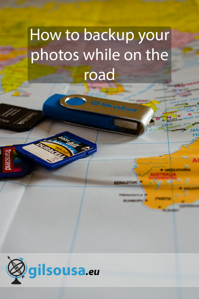 How to backup your photos while on the road