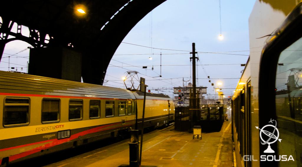 Milan Main Train Station