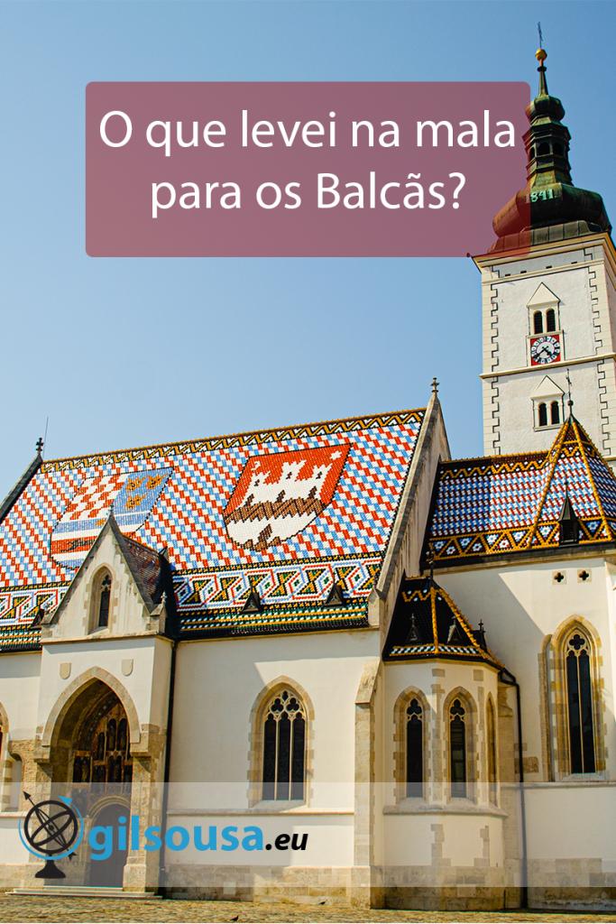 O que levei na mala para os Balcãs?