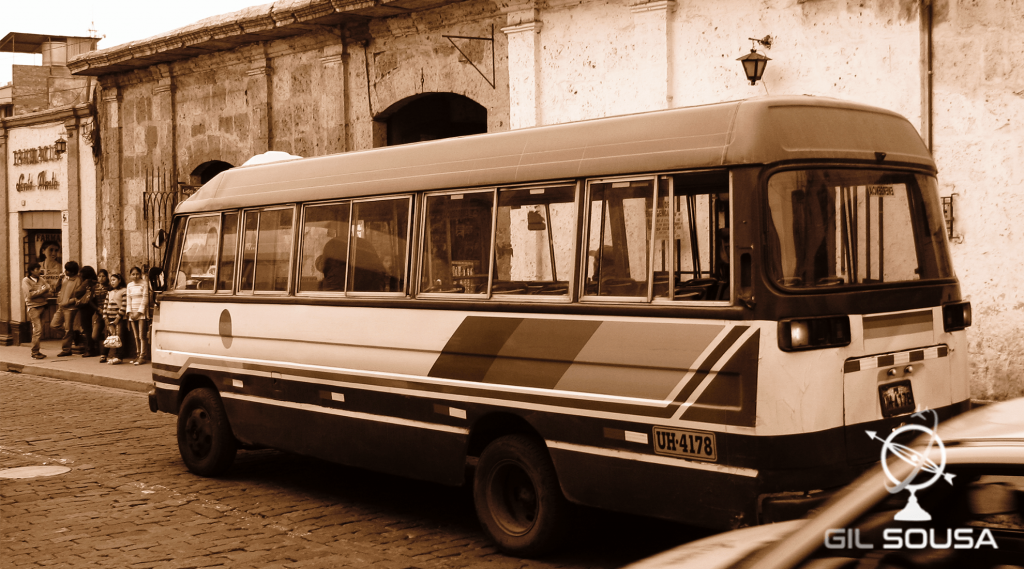 Old bus in Arequipa