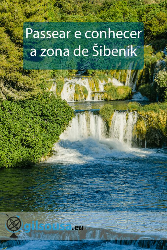 Passear e conhecer a zona de Šibenik