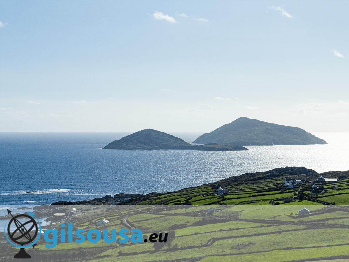 Passear pelo condado de Kerry na Irlanda