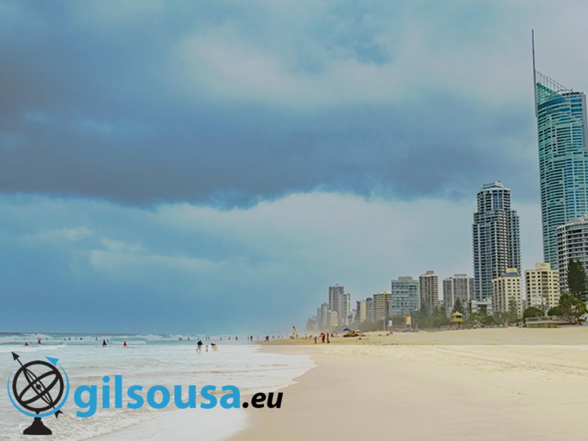 Relaxar em Gold Coast, a cidade das festas