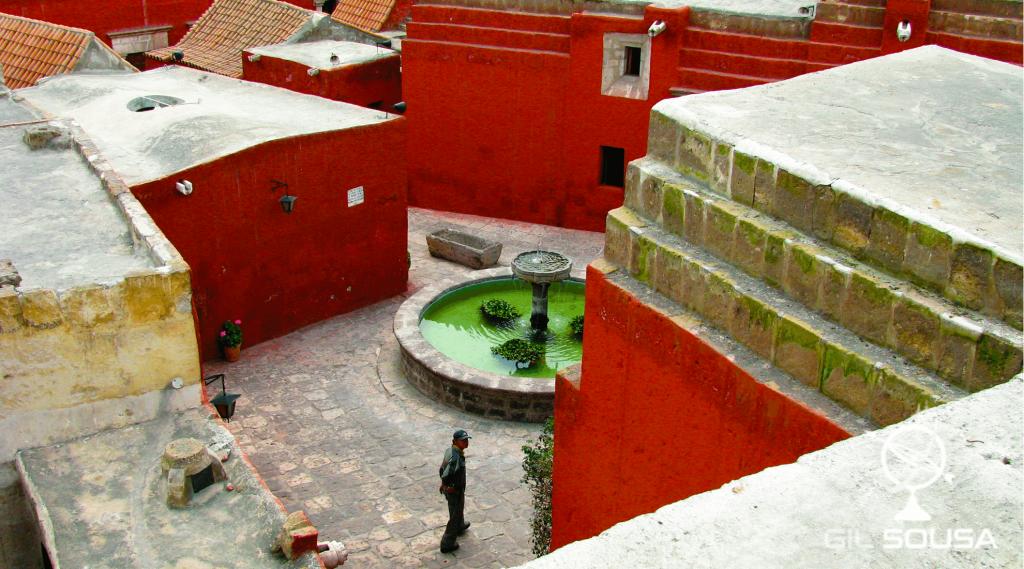 Santa Catalina Monastery - Roof view