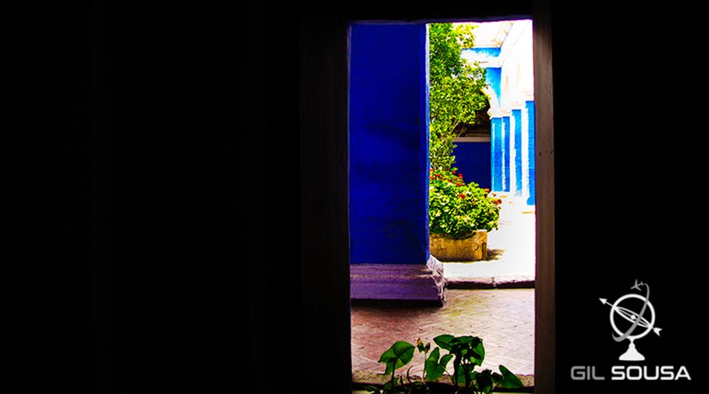Mosteiro de Santa Catalina - Vista de uma janela