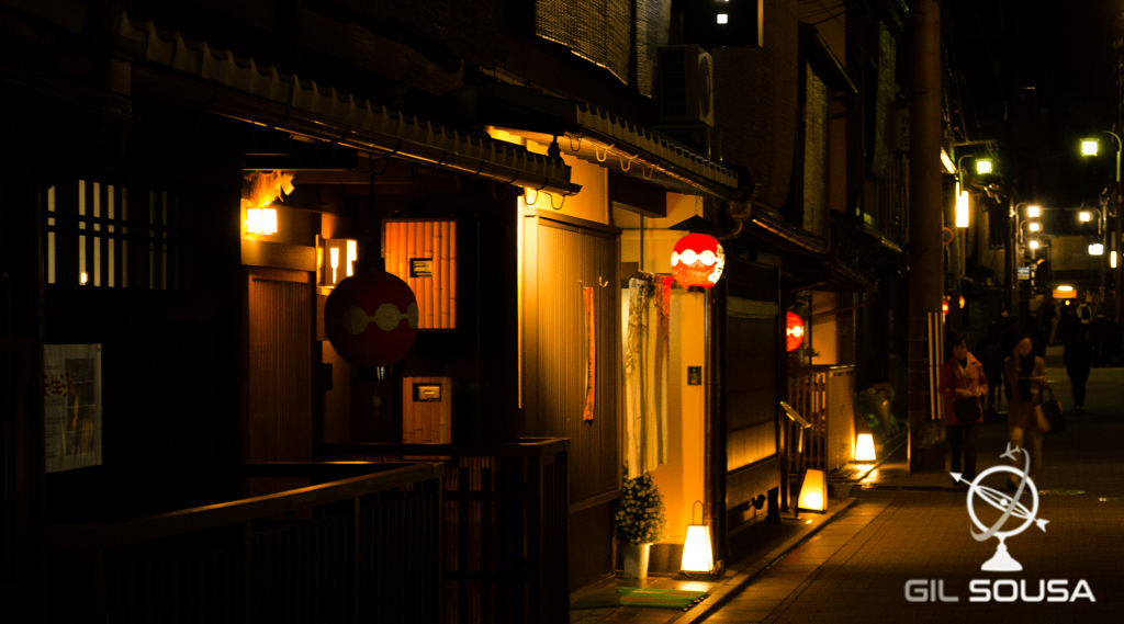 Street in Gion at Night