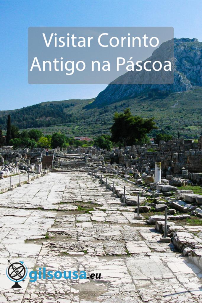 Visitar Corinto Antigo na Páscoa
