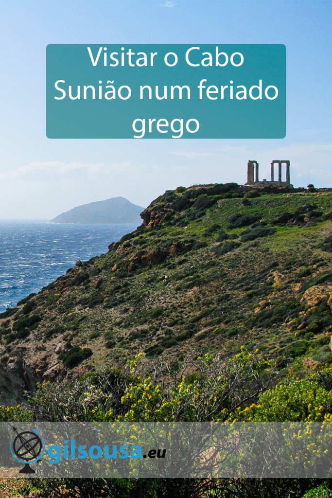 Visitar o Cabo Sunião num feriado grego