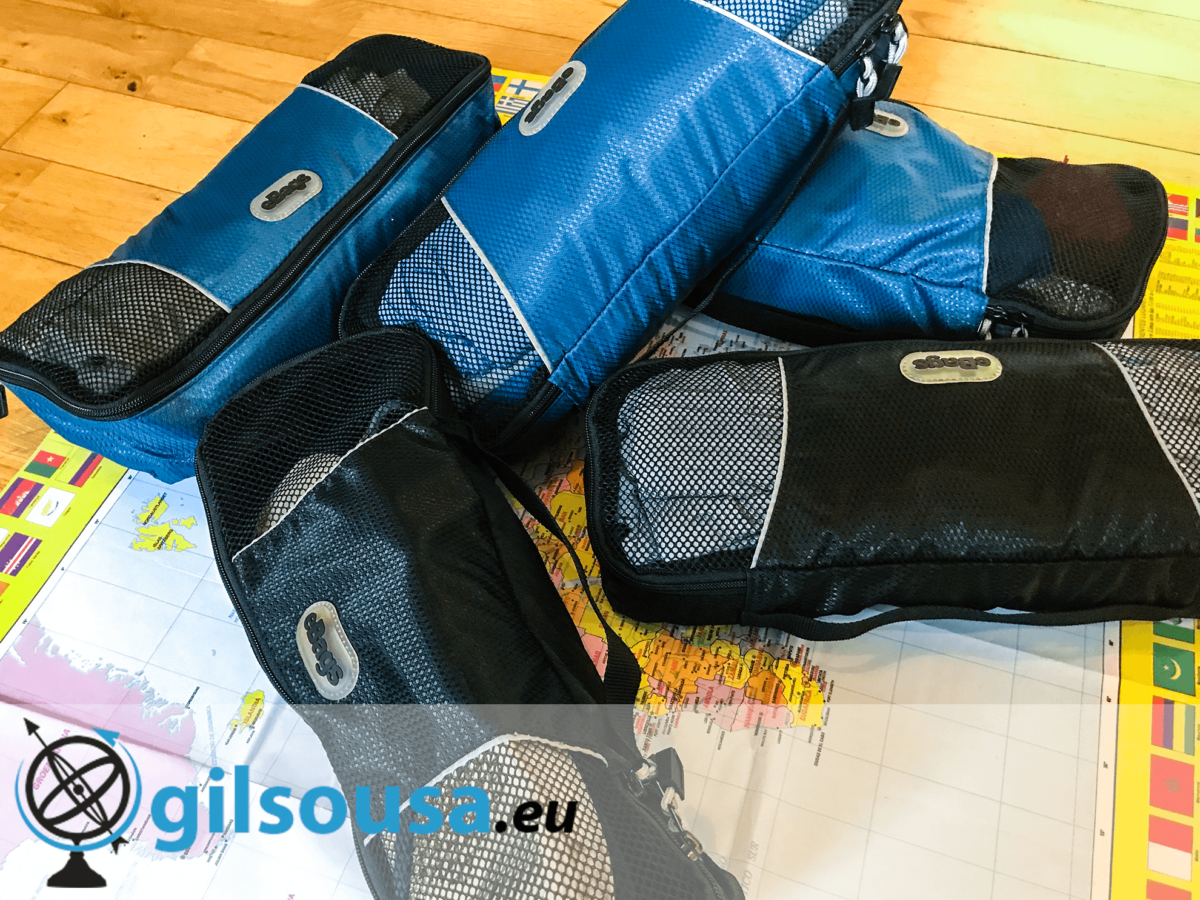 "Crítica: Cubos de bagagem ""eBags Slim Packing Cubes"""