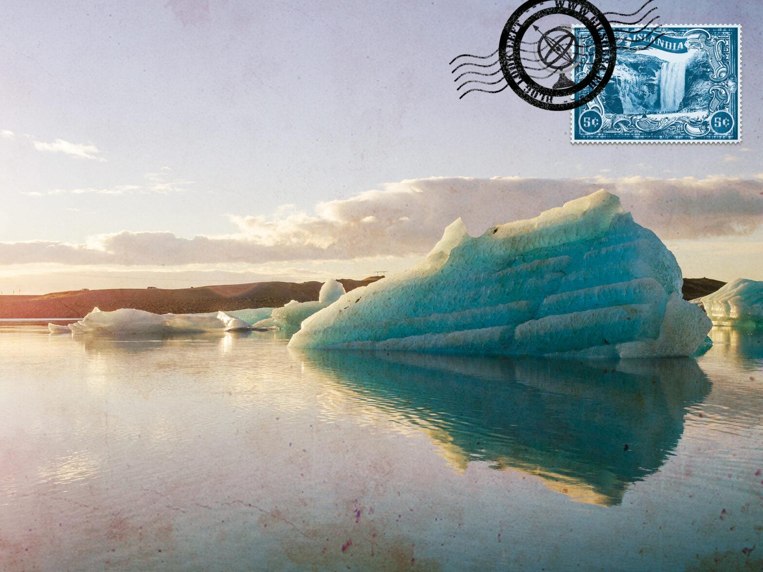 Explorar a Islândia de carro, de Reiquiavique à Lagoa Glaciar