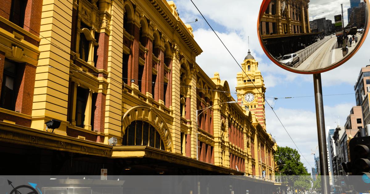 Melbourne, o primeiro impacto na cidade