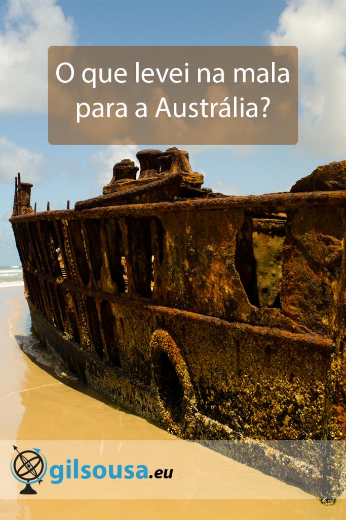 O que levei na mala para a Austrália?