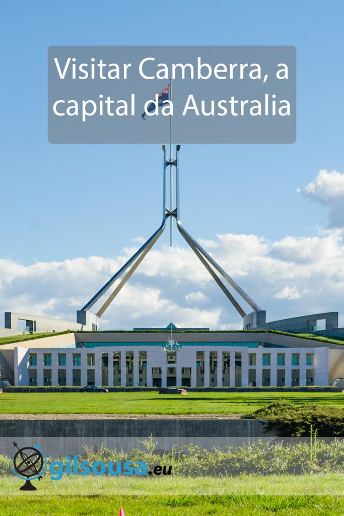 Visitar Camberra, a capital da Austrália