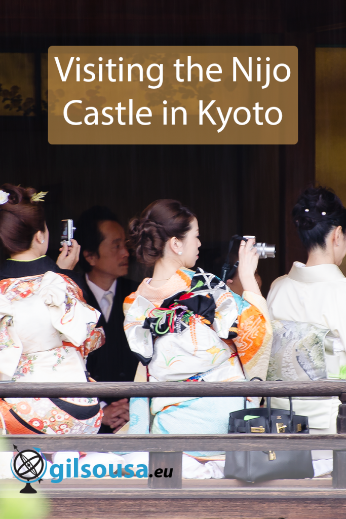 Visiting the Nijo Castle in Kyoto