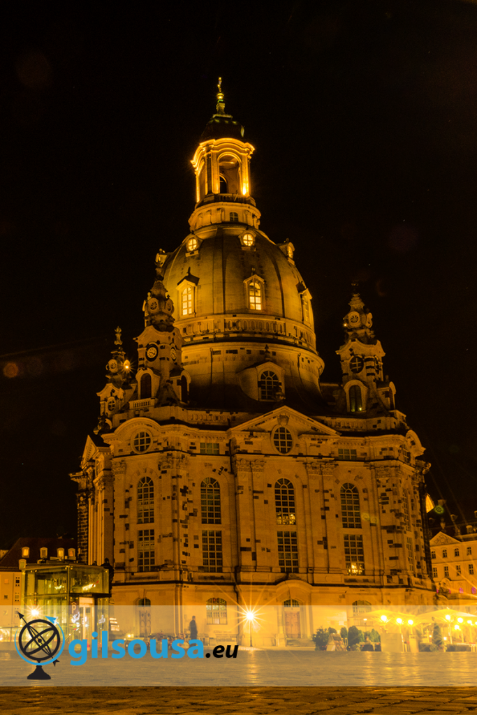 Frauenkirche (Our Lady Church) at night