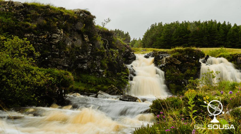Pequenas cascatas em Fairy Pools