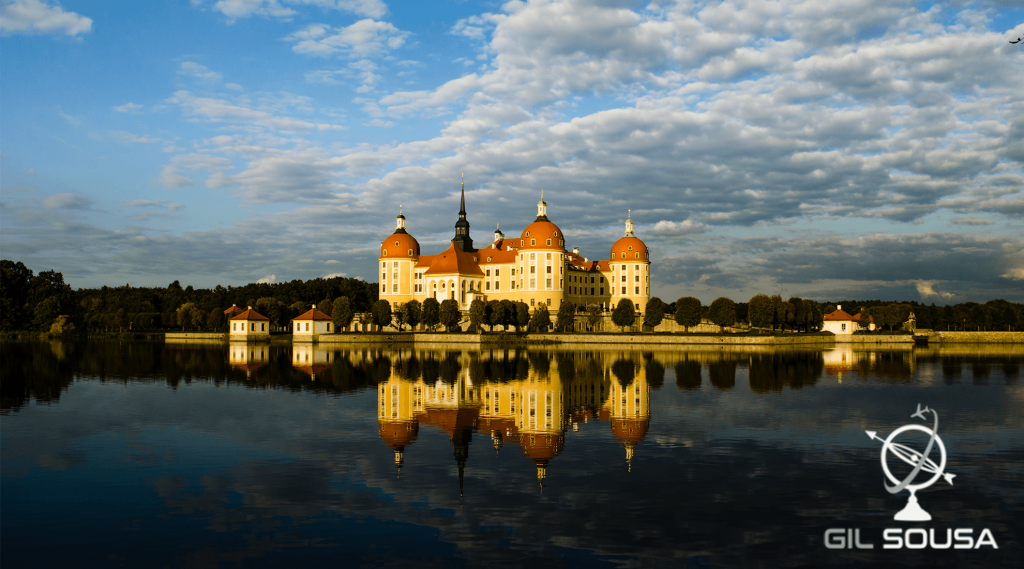 View over Moritzburg's Palace