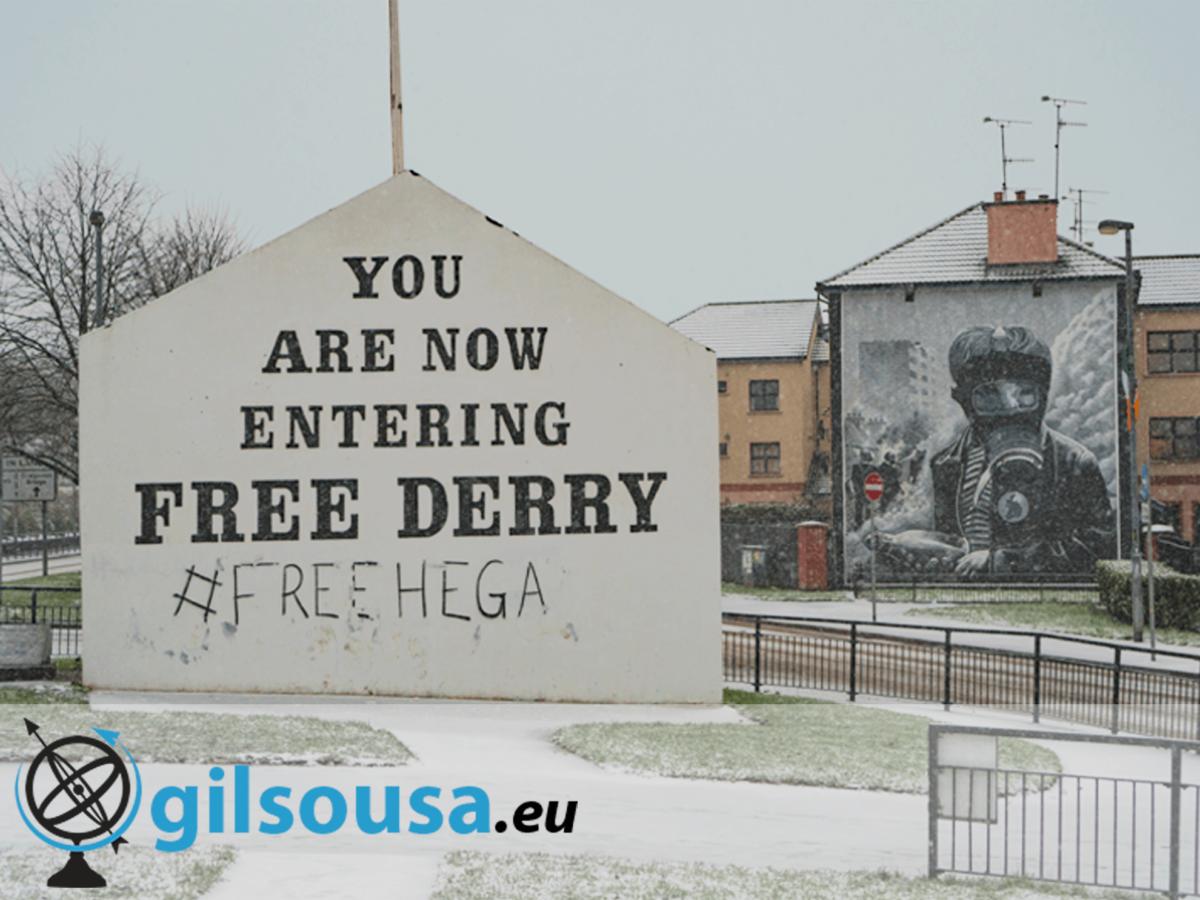 Derry - Londonderry, uma cidade dividida entre dois países
