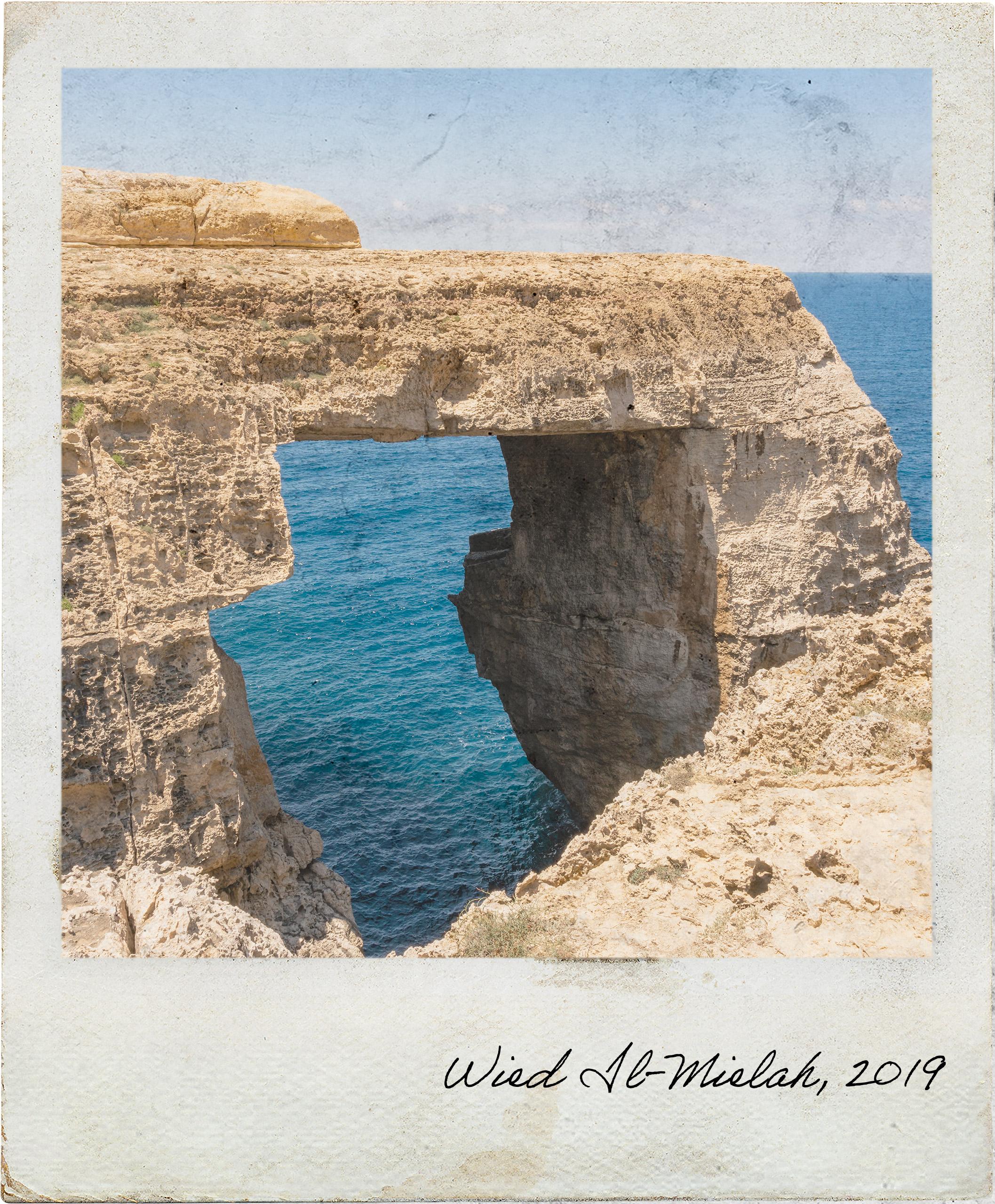 Wied Il-Mielaħ, uma janela menos conhecida em Malta