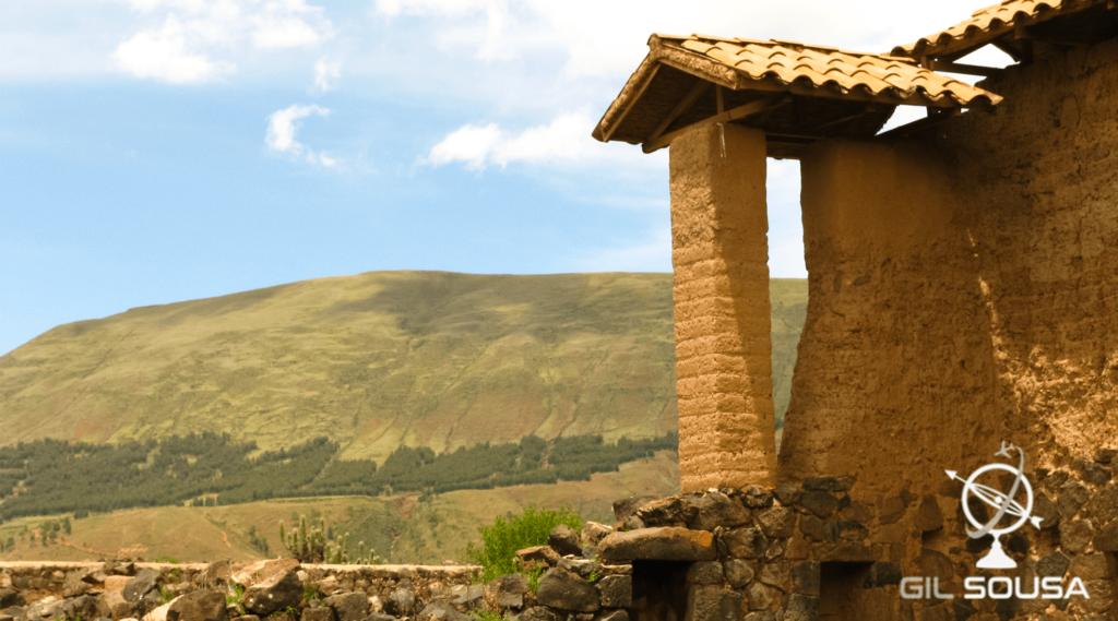 Ruínas de um edifício em Raqch'i