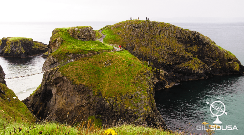 Rope bridge in Carrick-a-Rede