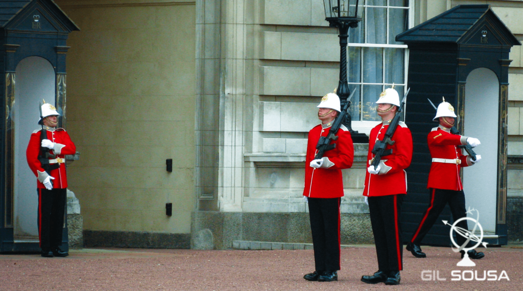 Royal Guards in London