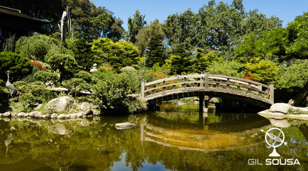 Jardim Japonês Hakone na zona de Silicon Valley