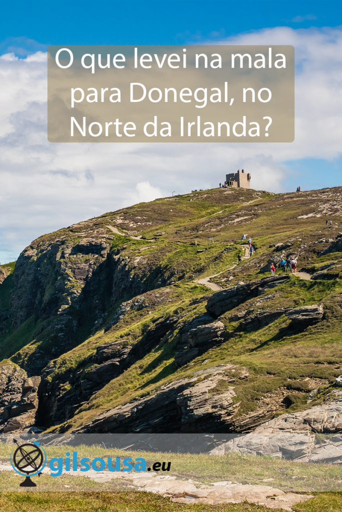 O que levei na mala para Donegal, no Norte da Irlanda?