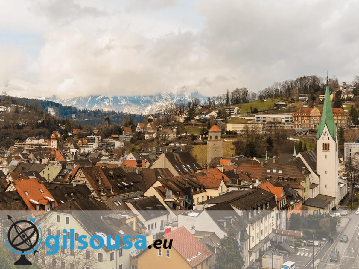 Feldkirch, uma passagem pela Áustria a caminho de Vaduz