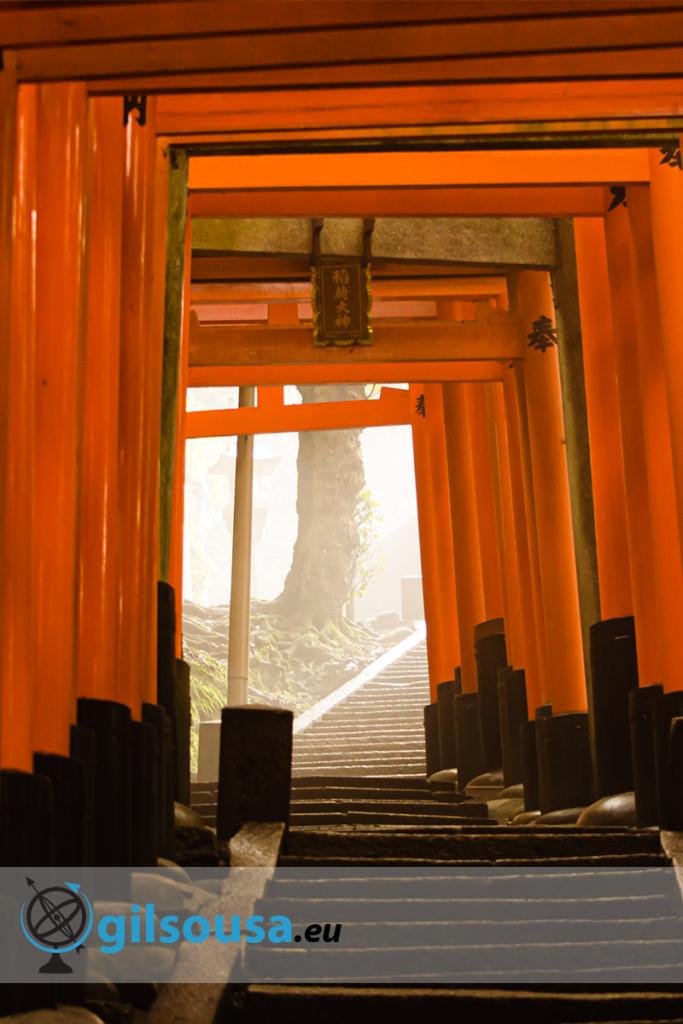 Shrines em Fushimi Inari-taisha