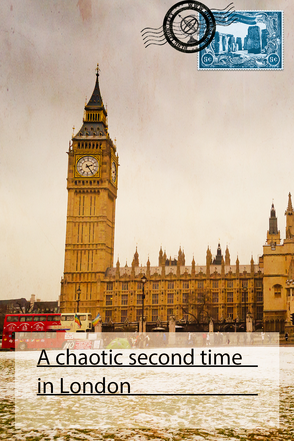 A chaotic second time in London