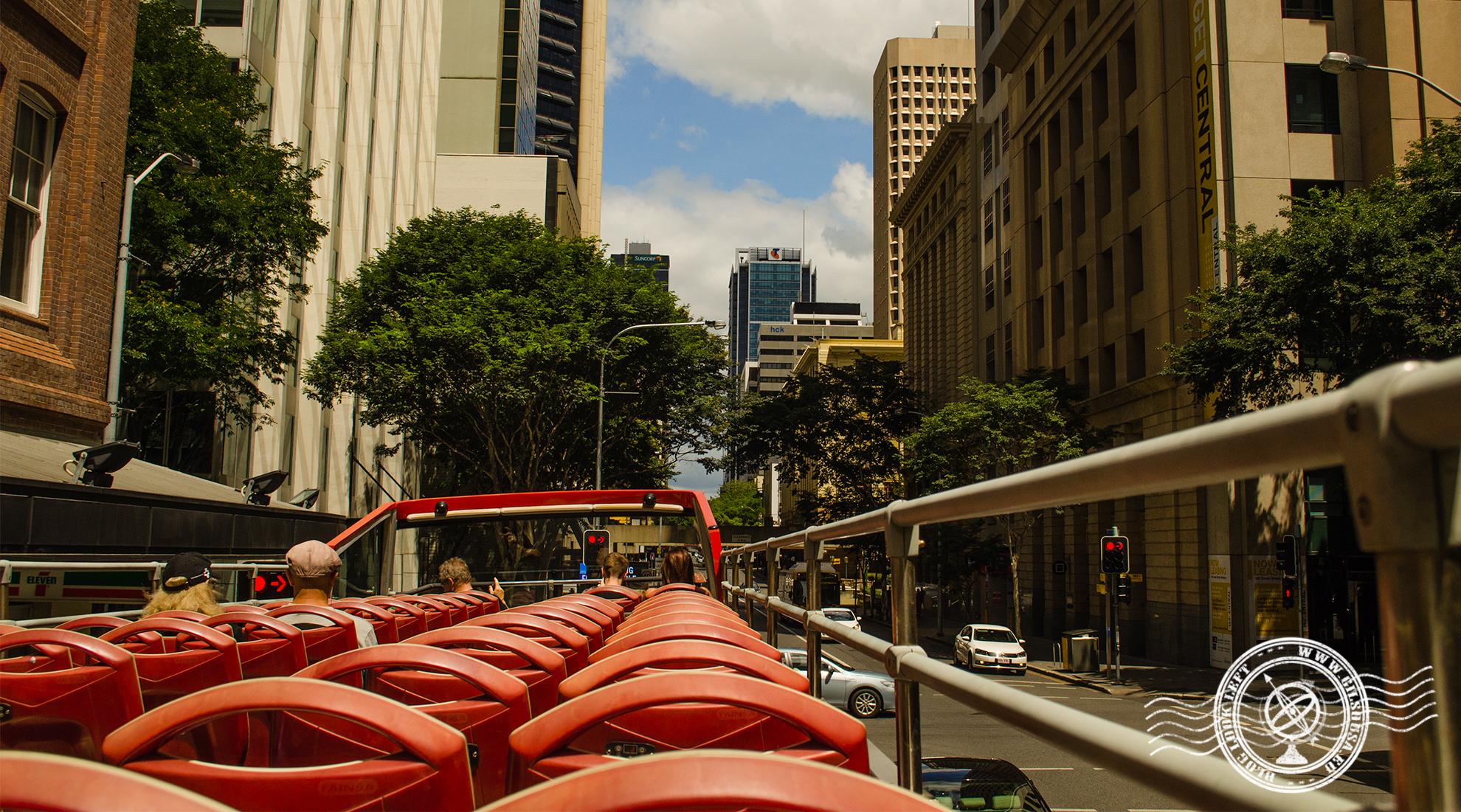 Autocarro turístico em Brisbane